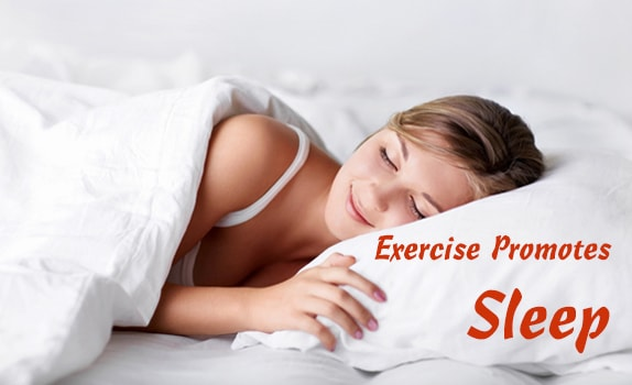 exercise promotes sleep