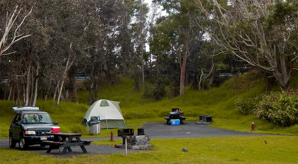 Hawaii Volcanoes National Park Campground