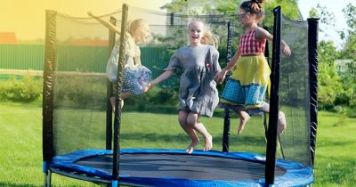 Spring Trampoline for kids