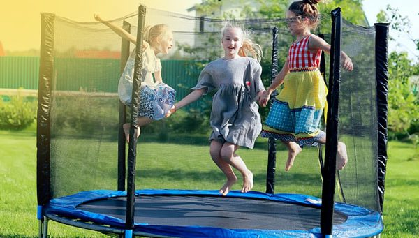 Spring Trampoline for kids