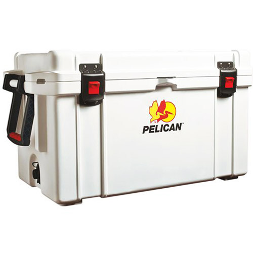 Pelican Elite 65 Quart Cooler (White)