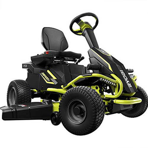 Ryobi RY48111 Battery Electric Rear Engine Riding Lawn Mower