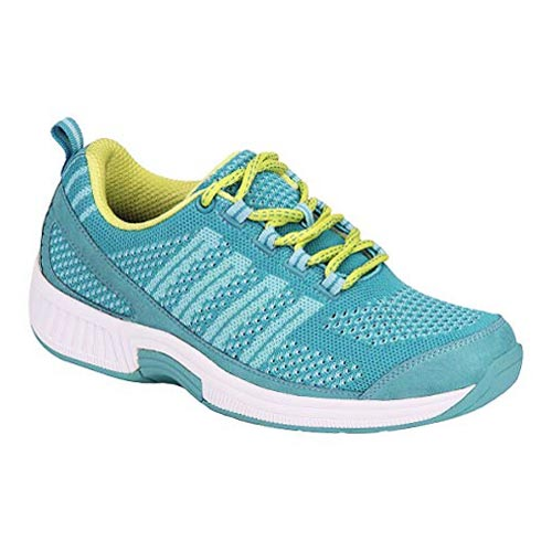 Orthofeet Plantar Fasciitis Orthopedic Diabetic Walking Shoes Coral Sneakers