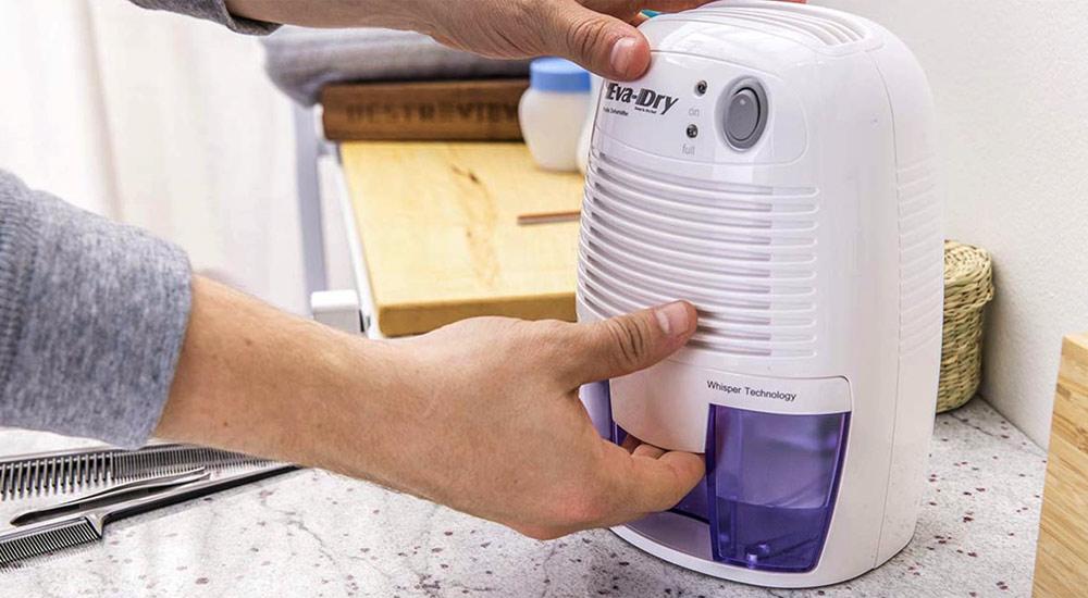 use dehumidifier