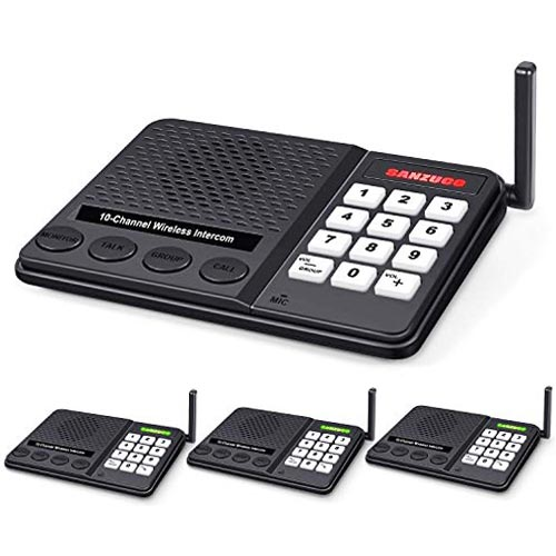 GLCON Wireless Intercom System for Home - Long Range 1 Mile