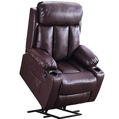 Mcombo Oversized Electric Power Lift Recliner Chair Sofa