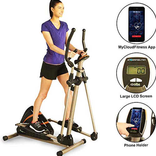 Exerpeutic Heavy Duty Magnetic Elliptical