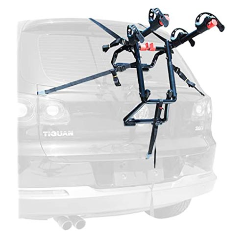 Allen Sports Premier Trunk Mounted Bike Rack for SUV no Hitch