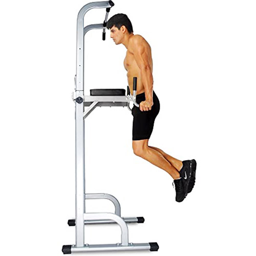 Ainfox Power Tower - Tower Dip Stands Fitness Gym Office