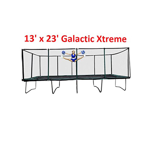 Happy Trampoline - Galactic Xtreme Gymnastic Rectangle Trampoline