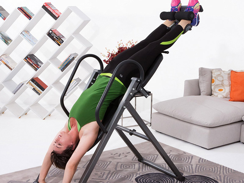 The inversion table has many benefits