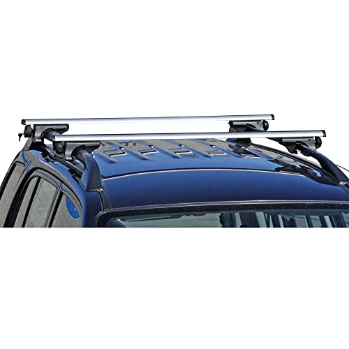 Rage Powersports Apex Side Rail Mounted Aluminum Roof Cross Bars